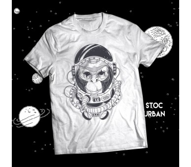 Tricou bărbați Space Monkey